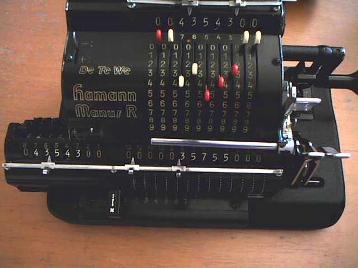 Hamann's calculator